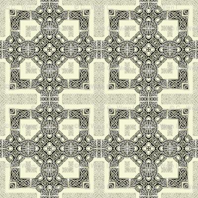 Lindisfarne Cross - Orthodox