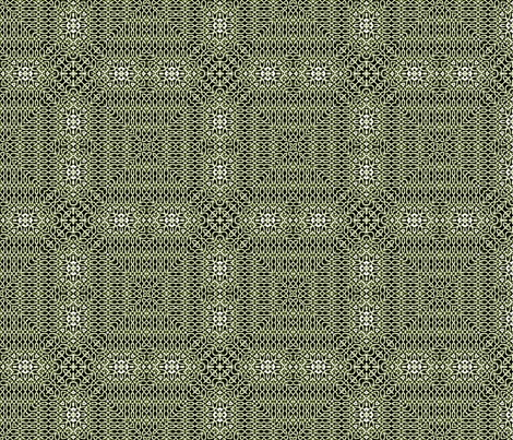 Lindisfarne Dark Lichen Green Sweater fabric by wren_leyland on Spoonflower - custom fabric