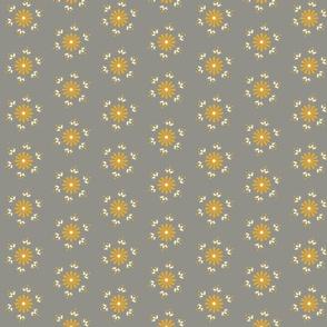 BerryFlower -Golden Gray