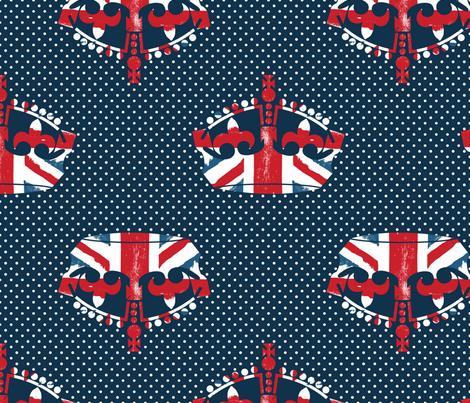 Diamond Jubilee 2 fabric by mgterry on Spoonflower - custom fabric