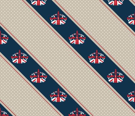 Diamond Jubilee 3 fabric by mgterry on Spoonflower - custom fabric