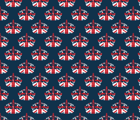 Diamond Jubilee 4 (tiny) fabric by mgterry on Spoonflower - custom fabric