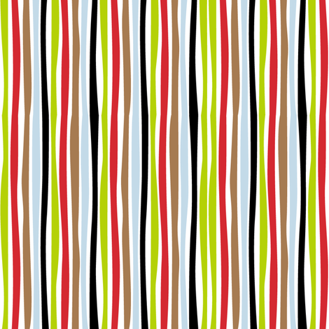 Farmtasia Stripe fabric by bzbdesigner on Spoonflower - custom fabric