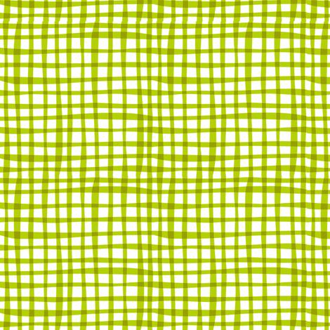 Farmtasia Gingham Green fabric by bzbdesigner on Spoonflower - custom fabric