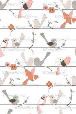Wake Up Call - Birds On A Line