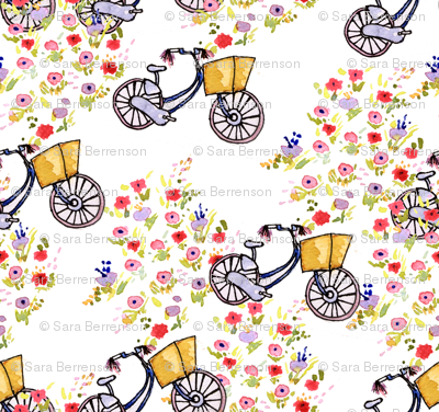 Bikes and Blooms