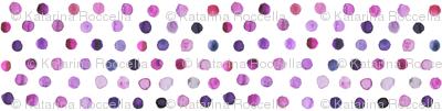 watercolor dots purple