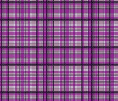 Purple Lumberjack fabric by glanoramay on Spoonflower - custom fabric
