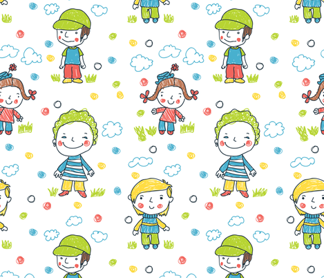 kids-01 fabric by katja_saburova on Spoonflower - custom fabric
