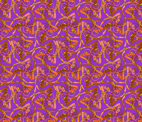 gottadance2 fabric by glimmericks on Spoonflower - custom fabric
