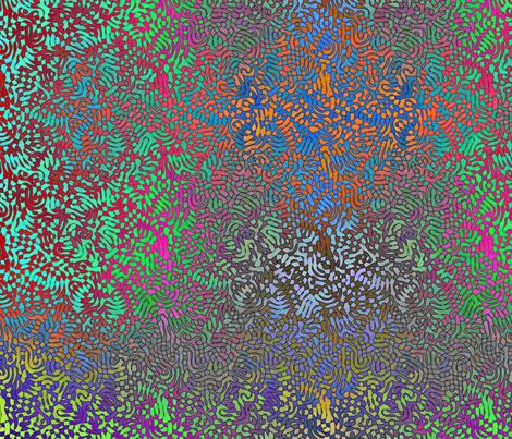 Sky Lace fabric by feebeedee on Spoonflower - custom fabric