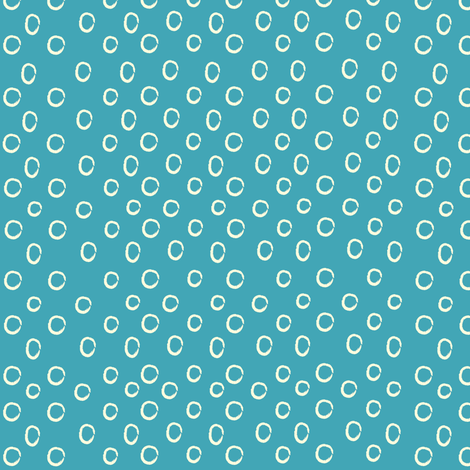 Blue Dots fabric by anna_gregory on Spoonflower - custom fabric