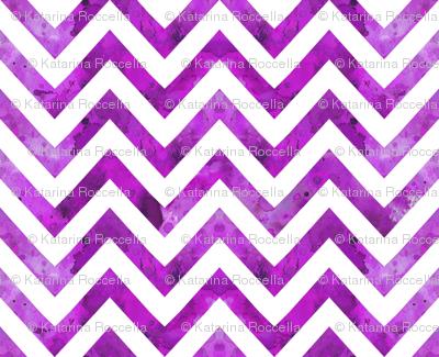 watercolor chevron purple darker