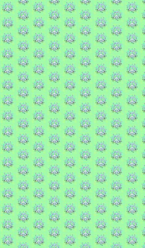 Wildflower Peace fabric by leahvanlutz on Spoonflower - custom fabric