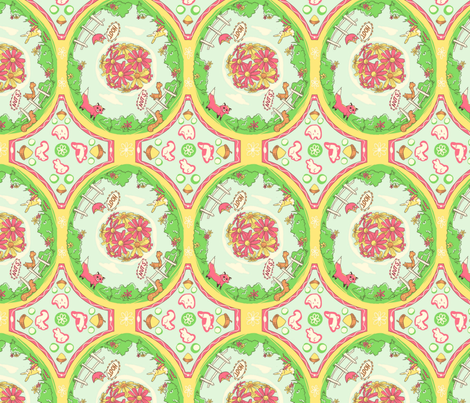 Woodland Whimsy fabric by ynckay on Spoonflower - custom fabric