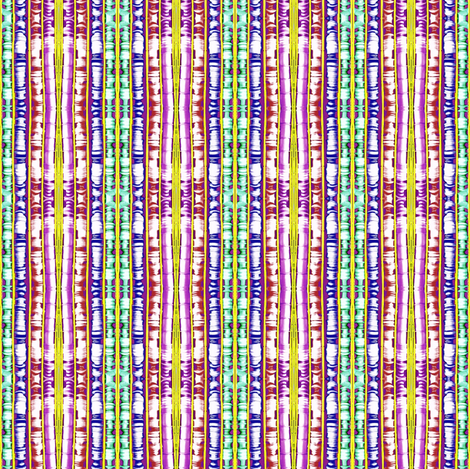 Bright Spooling Stripes fabric by robin_rice on Spoonflower - custom fabric