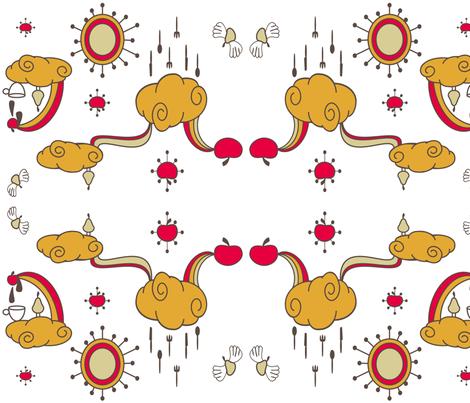 retro fabric by lerhyan on Spoonflower - custom fabric
