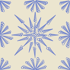 Turretella Pattern Sea Lavender