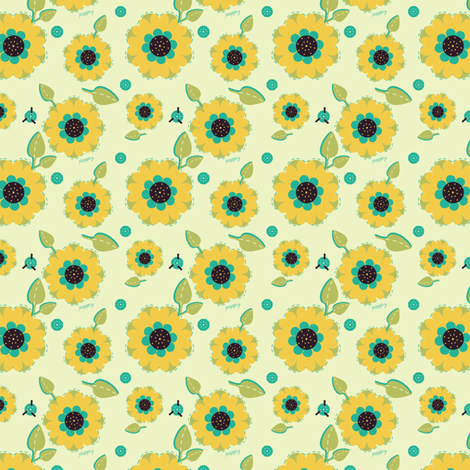 Pretty Planters fabric by eppiepeppercorn on Spoonflower - custom fabric