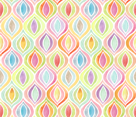 Bargello Flight Formation fabric by kayajoy on Spoonflower - custom fabric