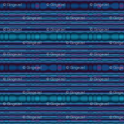 Blue Beaded Look Stripe © Gingezel™ 2012