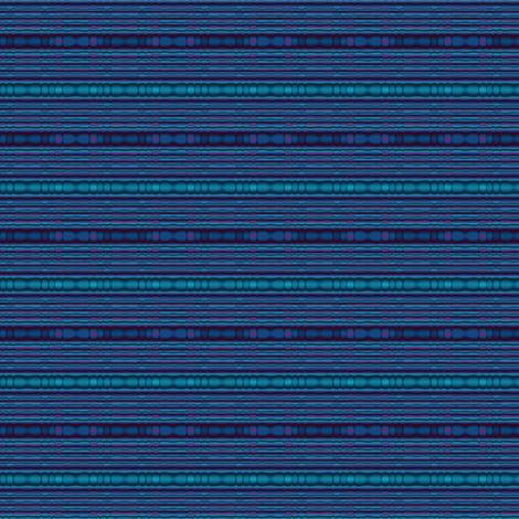 Blue Beaded Look Stripe © Gingezel™ 2012 fabric by gingezel on Spoonflower - custom fabric