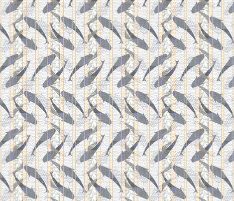 fishstripe2 fabric by glimmericks on Spoonflower - custom fabric