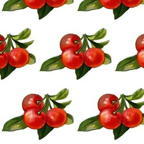 red cherry cluster