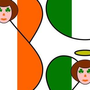 Irish Flag Angel