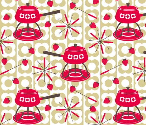 Do You Fondue? fabric by shelleymade on Spoonflower - custom fabric