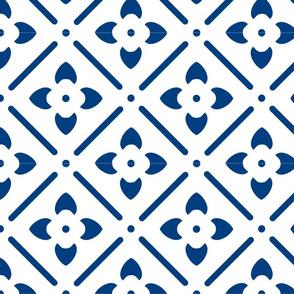 Blue Flower Geometry