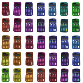 rainbow calculators