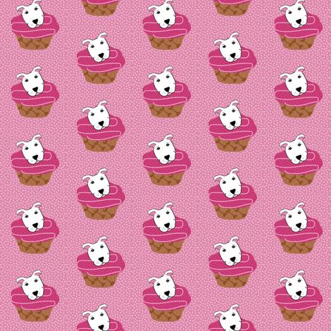 Bully Pupcake  fabric by missyq on Spoonflower - custom fabric