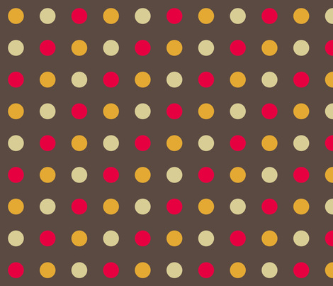 Salt 'n Pepper Dots fabric by evenspor on Spoonflower - custom fabric