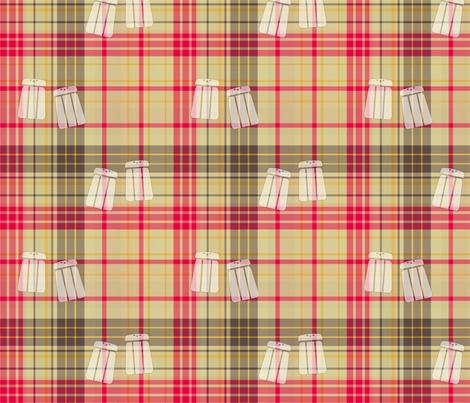 Salt 'n Pepper Plaid fabric by evenspor on Spoonflower - custom fabric