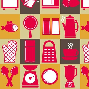 Kitchen Kitsch - 9in (gold)