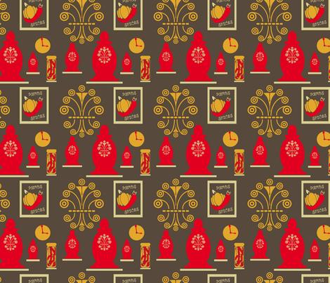 SpiceJarsandRack fabric by yveleyn on Spoonflower - custom fabric