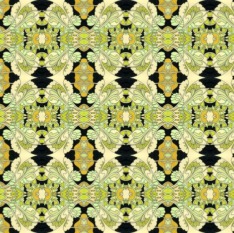 Sine Wave Samba fabric by edsel2084 on Spoonflower - custom fabric