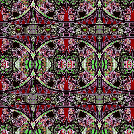 Bollywood Nights fabric by edsel2084 on Spoonflower - custom fabric