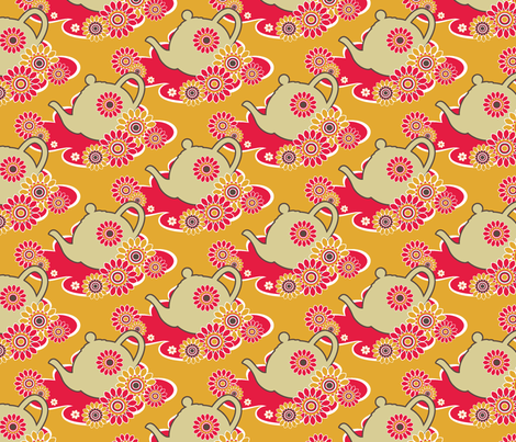retro1_masked fabric by deborartiste on Spoonflower - custom fabric