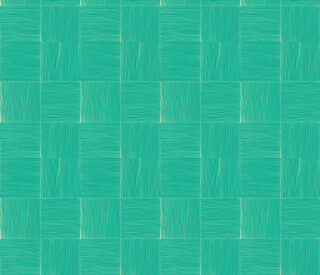 Lauhala mat in crustaian blue fabric by sophista-tiki_by_dawn_frasier on Spoonflower - custom fabric