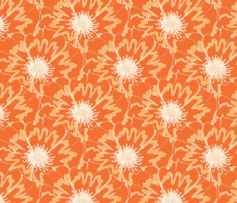 roses12 fabric by deborartiste on Spoonflower - custom fabric