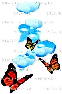 Butterflies and Clouds