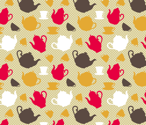 kitchen fabric by martinaness on Spoonflower - custom fabric