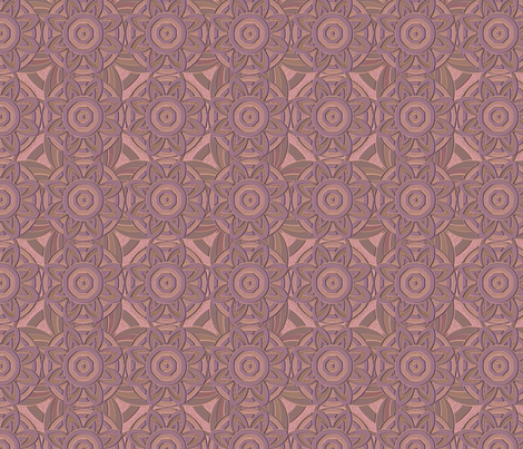starstruck rosemauve fabric by glimmericks on Spoonflower - custom fabric