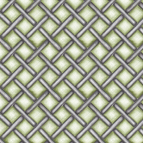 metal_basketweave - green