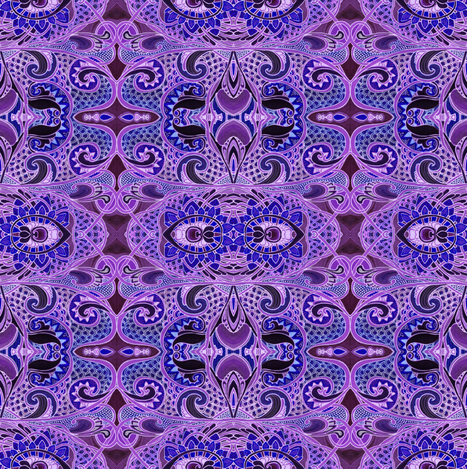 Have a Very Purple Day fabric by edsel2084 on Spoonflower - custom fabric