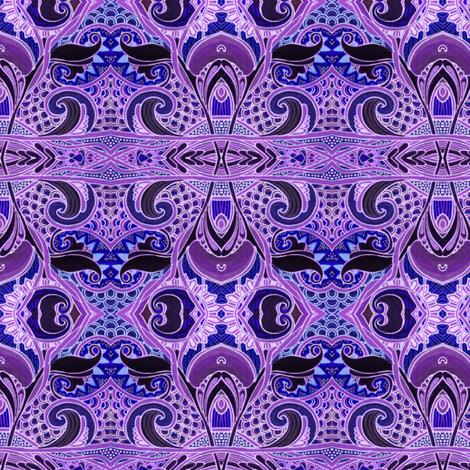 Midnight Under the Sea fabric by edsel2084 on Spoonflower - custom fabric