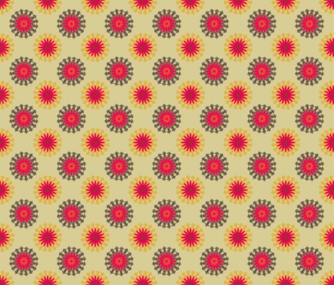 RetroWallpaper1 fabric by grannynan on Spoonflower - custom fabric