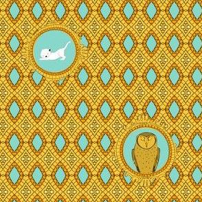 Owl and Pussycat Lattice